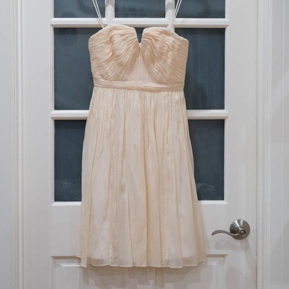 J. Crew Dresses | Jcrew Nadia Dress In Silk Chiffon Size 0 | Poshmark